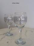 Vinske čaše za crkveno venčanje