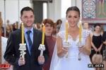 Nasi mladenci i sveće za crkveno vencanje