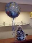Helijumski balon i torta od pelena