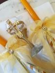 platno i sveće za venčanje