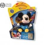 Cena: 2500din Torta od pelena sadrži:Trodelni set duboki i plitki tanjir i čaša iz Disney junior kolekcije, mali plišani Miji Maus, slatkiši i knjiga Mali Princ