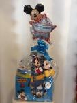 Cena: 4000 Sadrži: set za kuglanje sa loptom, plišanog Miki Mausa, kutiju za užinu, Disney čašu sa poklopcem, čarape i balon