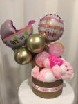 Cena: 2500 din Baby balon box sa plišanim medom