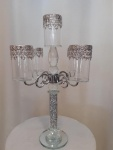Cena: 5000 din Kristalni svećnjak dostupna 2 komada
