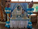 dekoracija slatkog stola Miki Maus