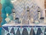Morska dekoracija rođendana