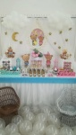 dekoracija slatkog stola za blizance