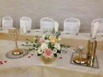 dekoracija mladenačkog stola