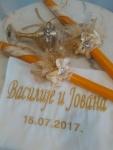 PLatno, casa i svece za vencanje