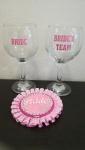 čaše za mladu i ekipu