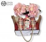 16. Lady box 3.: gin i tonic pink strawberry, head soap mango, drvena gajbica Cena: 2500 din