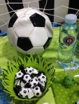 Dekoracija rođendana fudbal