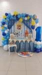 dekoracija za 1. rođendan Winnie the Pooh