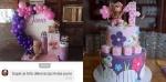 dekroacija uklopljena  uz tortu