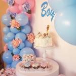 dekoracija baby shower