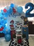 dekoracija rođendana Patrolne šape