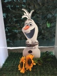dekoracija rođendana Olaf